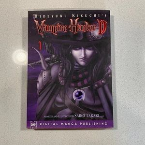 Vampire Hunter D Book By Hideyuko Kikuchi's
